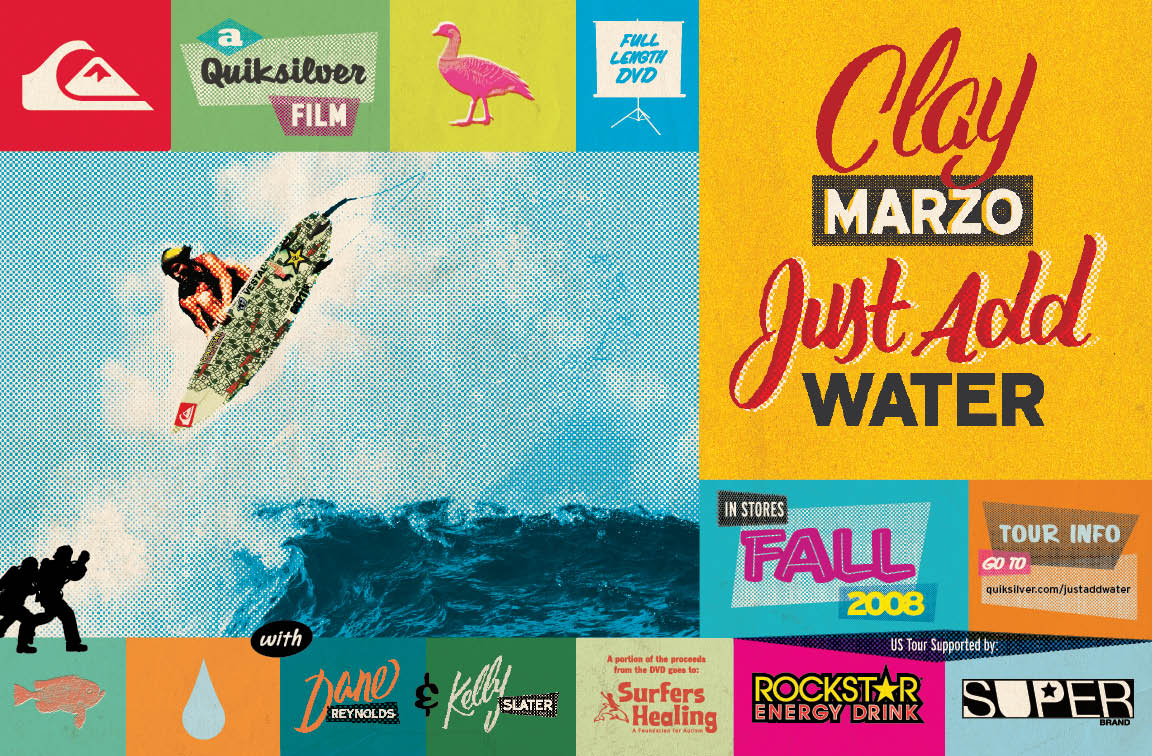 Quiksilver Presents Clay Marzo Just Add Water Adventure Sports