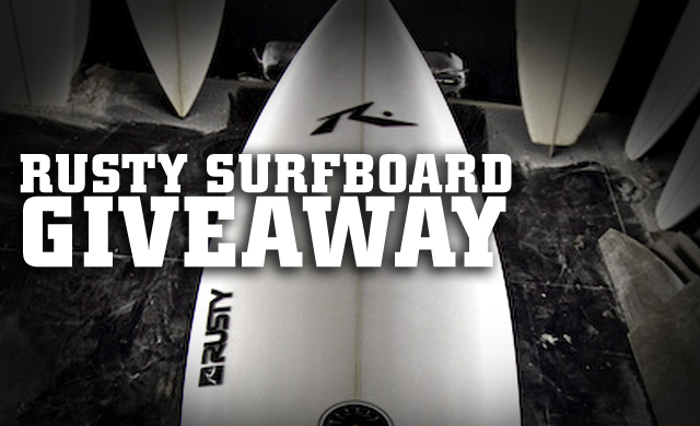 Rusty Surfboards Giveaway