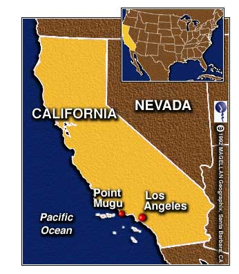 Point Mugu California Map.Three Drown After Being Swept Out To Sea At Point Mugu Adventure