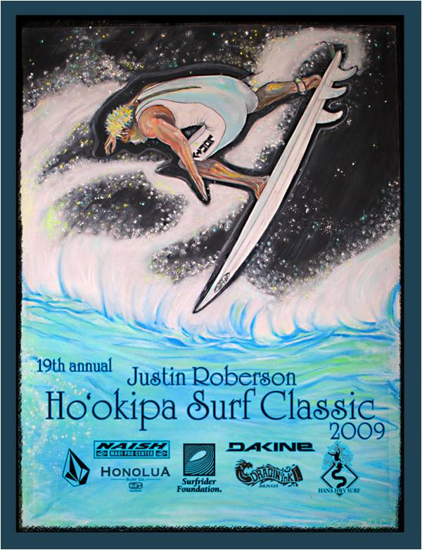 19th Annual Hookipa Classic Justin Roberson
