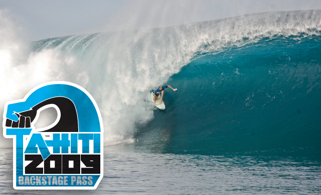 Billabong Pro Teahupoo Laurie Towner