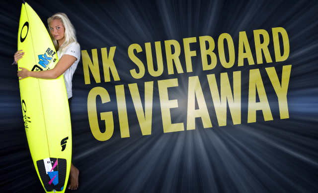 New Kreations Surfboard Giveaway