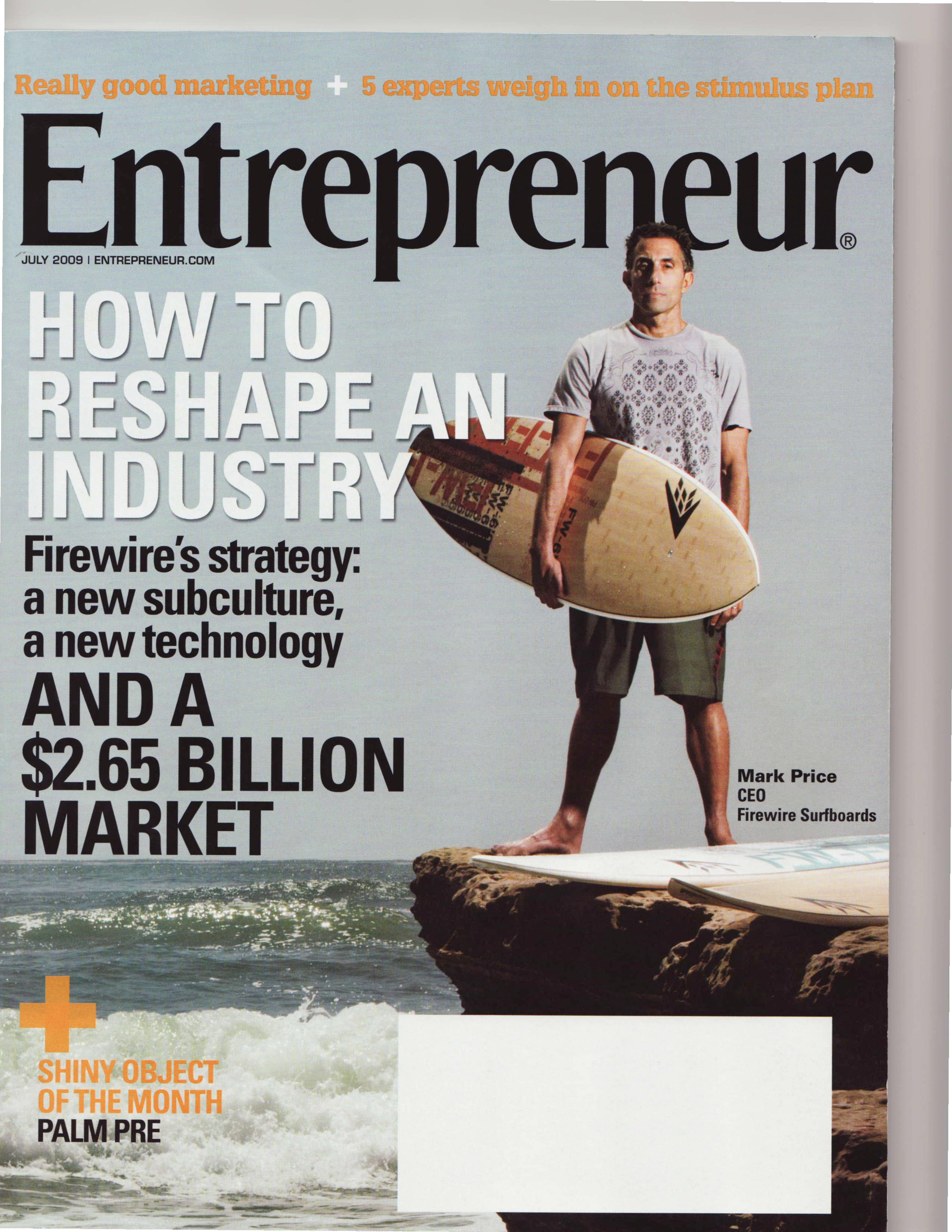 Firewire CEO On The Cover Of Entrepreneur Magazine | Adventure ...