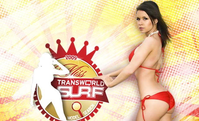 TransWorld SURF Model Search Miss July