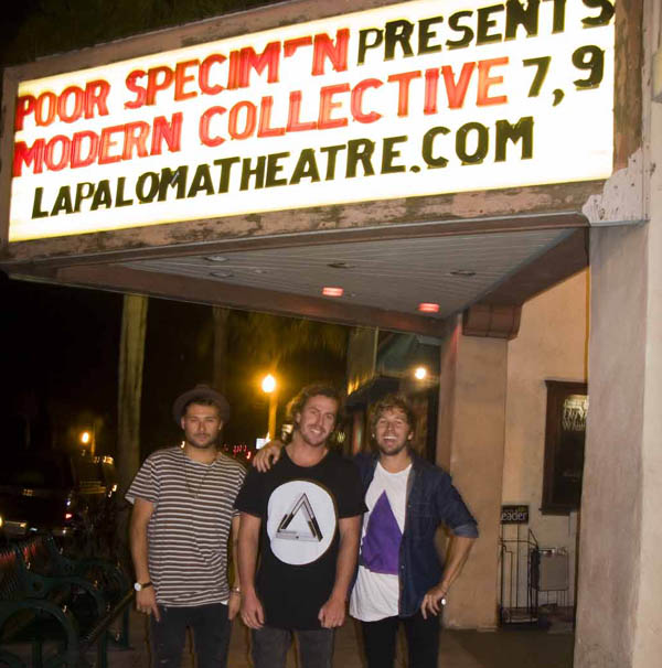 modern collective premiere at the la paloma adventure