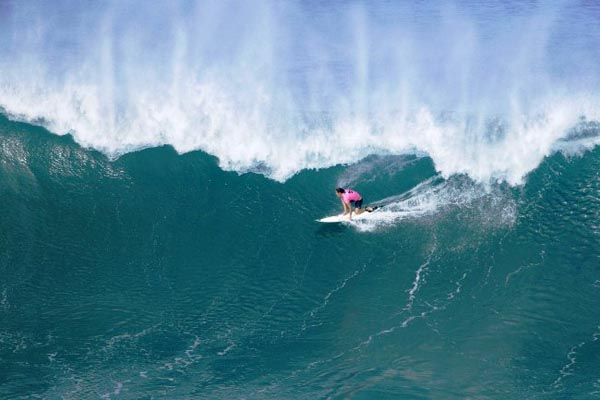 Chelsea Hedges at Honolua Bay. Photo: ASP/Getty Images