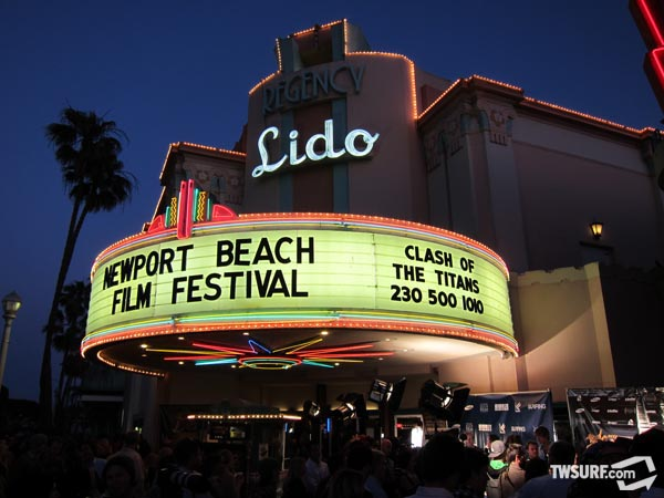 The Lido Theater in Newport Beach played host to the Newport Beach Film Festival this past weekend. Photo: Checkwood