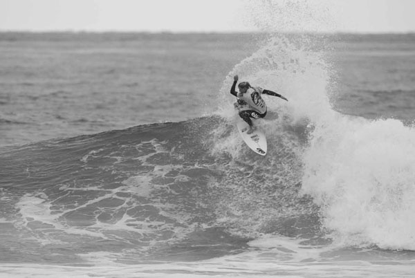 Lakey's tail drift, shot 2. Photo: Steindler