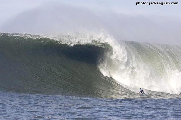 "No big wave conversation is complete without a nod to South Africa's Grant ""Twiggy"" Baker. Photo: jackenglish.com"