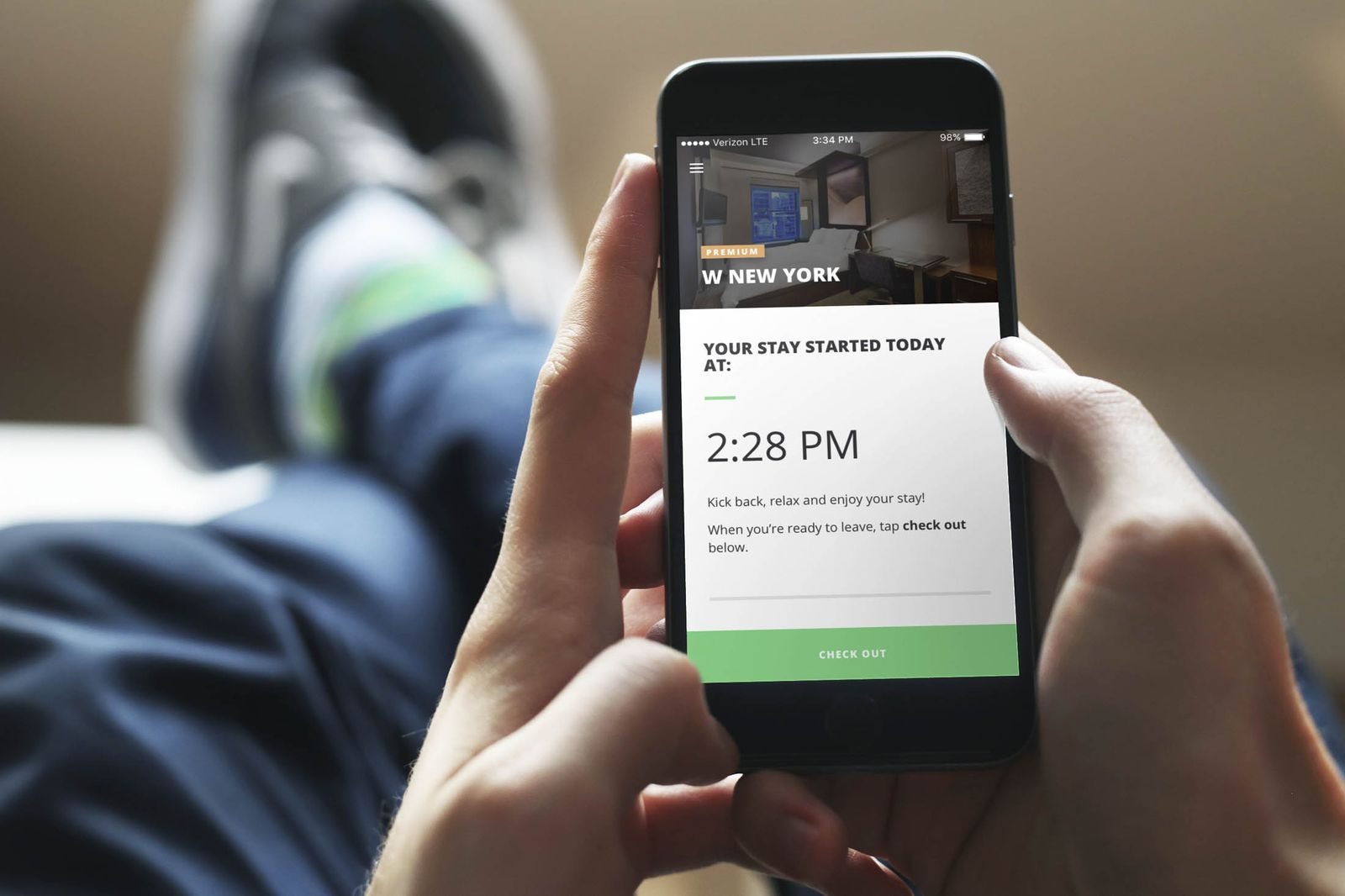 New app Recharge lets you rent hotel rooms by the minute