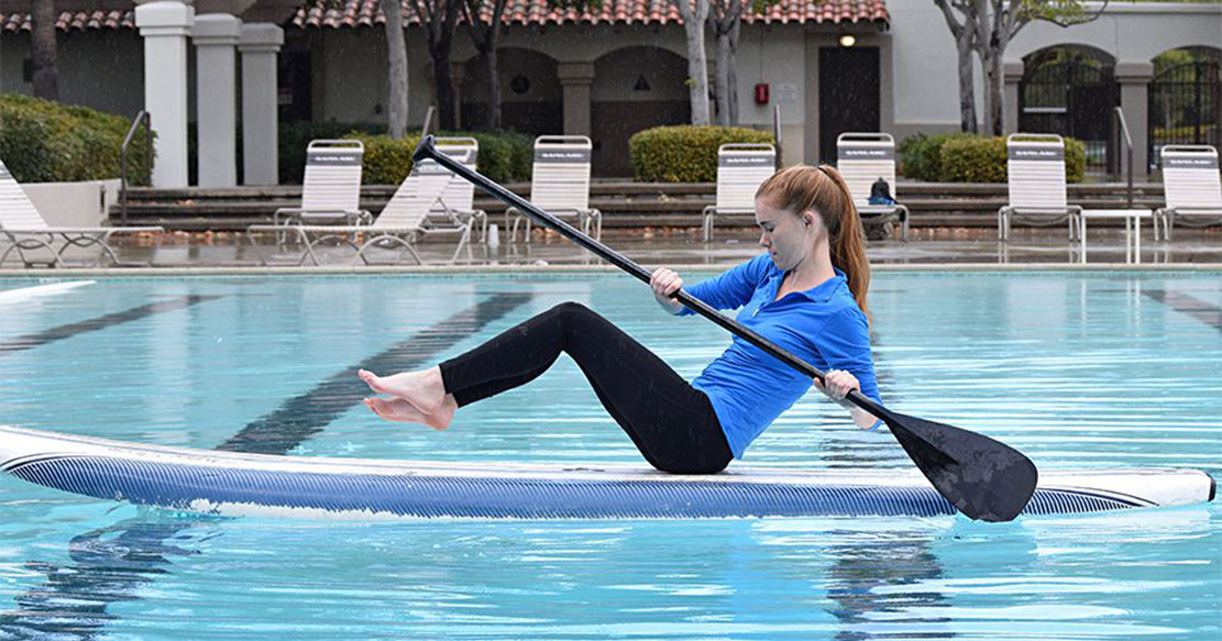 6 Core-Building Exercises You Can Do on a Standup Paddleboard
